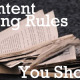5 B2B Content Marketing Rules You Should Break - Blog image