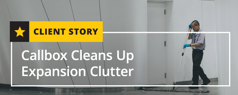 Callbox Cleans Up Expansion Clutter