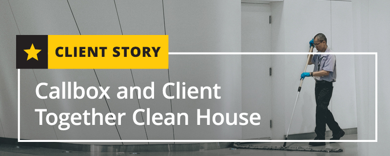 Callbox and Client Together Clean House