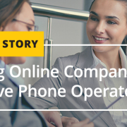 Leading Online Company Profits with Live Phone Operators