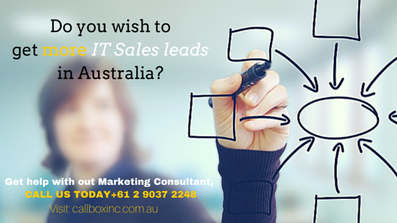 Do you wish to get more IT Sales leads in Australia? Get help.