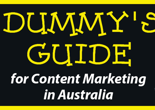 Dummy's Guide for Content Marketing in Australia