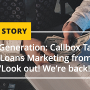 Demand Generation Callbox Takes Business Loans Marketing from