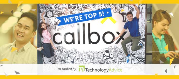 TechnologyAdvice recognizes Callbox as one of the top 5 lead generation agencies