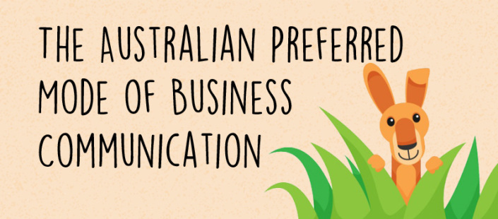 The Australian Preferred Mode of Business Communication