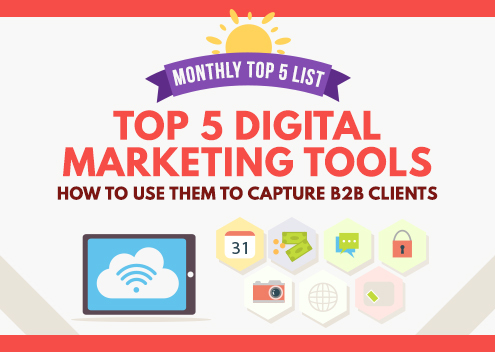 Top 5 Digital Marketing Tools: How to Use Them to Capture B2B Clients