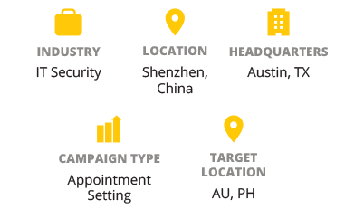 IT Security Provider Taps into APAC Markets with Callbox Campaign - The Client