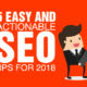 5 Easy and Actionable SEO Tips for 2018 [GUEST POST]