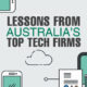 Lessons from Australia's Top Tech Firms