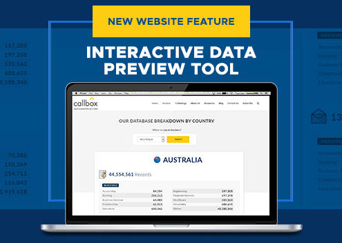 Callbox Adds Interactive Data Preview Tool as New Website Feature