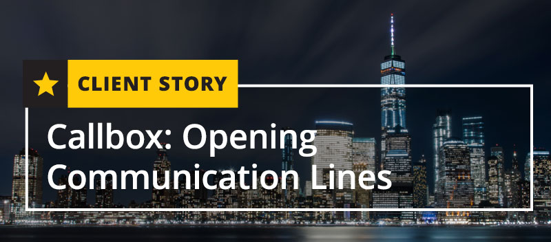 Callbox: Opening Communication Lines