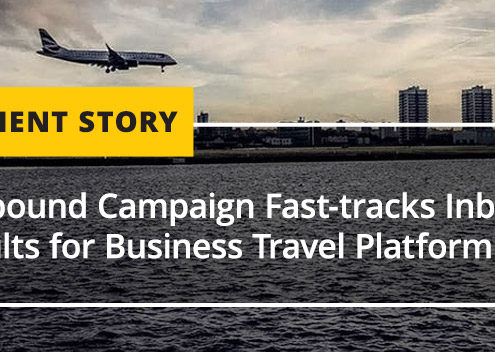 Outbound Campaign Fast-tracks Inbound Results for Business Travel Platform [CASE STUDY]