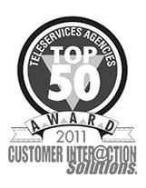 Teleservices Agencies Top 50 Award 2011