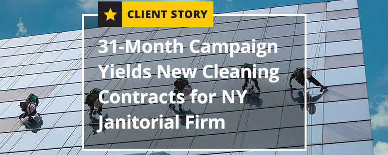 Month Campaign Yields New Cleaning Contracts for NY Janitorial Firm