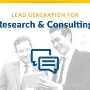 Research and Consulting Lead Generation