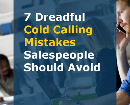 7 Dreadful Cold Calling Mistakes Salespeople Should Avoid (Featured Image)