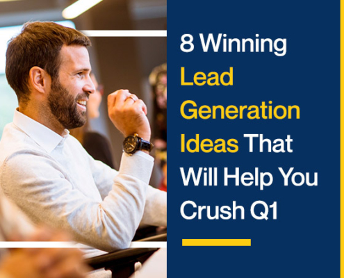 8 Winning Lead Generation Ideas That Will Help You Crush Q1