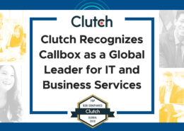 Clutch Recognizes Callbox as a Global Leader for IT and Business Services