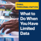 Email Personalization: What to Do When You Have Limited Data