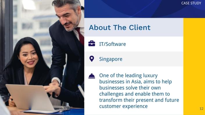 Case Study Client Profile