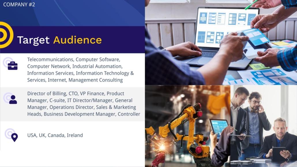 Case Study Client Target Audience