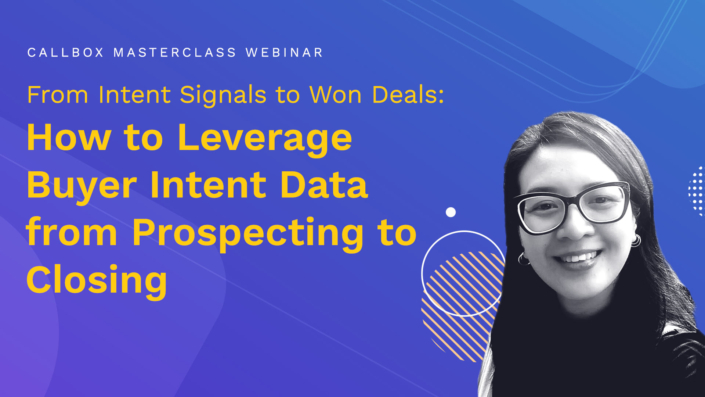 How to Leverage Buyer Intent Data from Prospecting to Closing