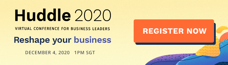 Huddle 2020 Virtual Conference for Business Leaders - Banner image