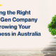 Picking the Right Lead Gen Company for Growing Your Business in Australia
